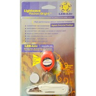 Lightwave Pocket-Bright LED Lite - Waterproof  ShockProof  Flashlight w/Lanyard-Blk