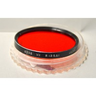 Hoya Series 7, 25A Red Filter + Tiffen Series 7 Thread Filter Lens Adapter Ring