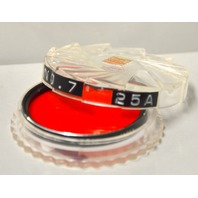 Hoya Series 7, 25A Red Filter + Tiffen Series 7 Thread Filter Lens Adapter Ring