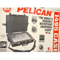 Pelican #1495 Computer Case - Black - Pick N Pluck Foam -Watertight
