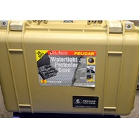 Pelican Watertight Case - #1500 Desert Tan with Foam