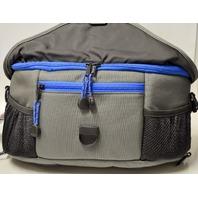 Tenba Wais Belt Pack - Black,Gray,Blue - P242N Opening front or back