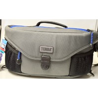 Tenba Wais Belt Pack - Black,Gray,Blue - P242N Opening front or back