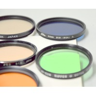 7 -52mm Camera Lens Filters - Different Manufacturers see description
