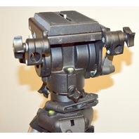 Bogen /Monfrotto 3050 Prof. Tripod w/Bogan 116 HD Cine/Video Fluid Head