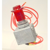 Signal-Stat Universal Push/Pull Lighted Switch - 102 Y01 - New old stock