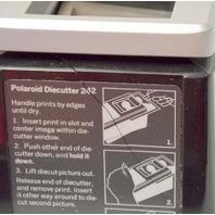 Polaroid 242 Die Cutter for passport Photo Camera