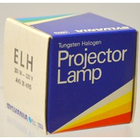 "Sylvania ""ELH"" 300W - 120V Projector Lamp - Blue Dot - New Old Stock"