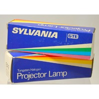"Sylvania ""EPR"" 500W - 120V Projector Lamp Tungsten Halogen-New old stock."