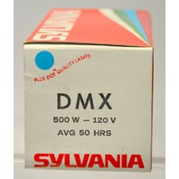 "Sylvania ""DMX"" Projector Lamp 500W - 120V - New Old Stock"