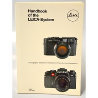 Leitz Handbook of the Leica-System Issue July 1982