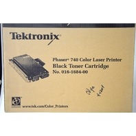 Tektronix Phaser 740 # 016-1684-00 Black Toner Cartridge- New Old Stock