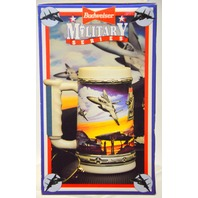 """Budweiser  Stein Military Series """"Air Force""""  NIB."""