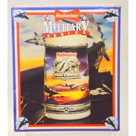 "Budweiser  Stein Military Series ""Air Force""  NIB."
