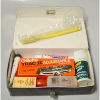 Vintage Overnight kit when flying on Eastern Airlines - Toiletries with case..