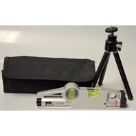 Ideal Mini Magnetic Laser Level with Tripod and case. #35-207 - Working