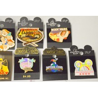 12 Disney Collectible Pins- all new - see write up for names.