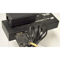 Hall Researdh Model 400, 4 Port Quad Video Splitter - VGA w/power supply and Cord