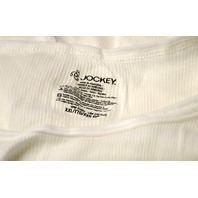 6 Mens Jockey Undershirt Ribbed Sleeveless- XXL- B - New.