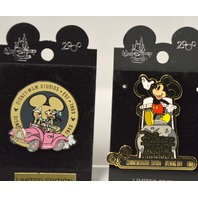 Disney Collectible Pins: MGM Studios Opening Day 1989  1- Mickey and 1 Goofy LE