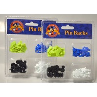 2 - Disney Pin Backs - 48 pcs - Rubberized to fit the disney pins. #23299