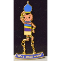 "Disney Pin ""It's a Small World Ride - India Dangle Pin - New."