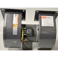 Dayton Model 1TDP8 Blower 1894CFM@Free Aiir, 1/40 HP,115V, Hz50/60,2750/3150