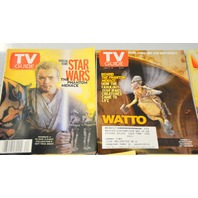 "5 Star Wars TV Guides 2002 -  ""Bag 1""  The Phantom Menace- see more info below."
