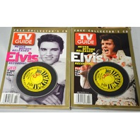 4 -3  Elvis Collector's C.D. TV Guide and 1 Collector's Edition Elvis TV Guide -Bag 6