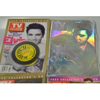 4 -3  Elvis Collector's C.D. TV Guide and 1 Collector's Edition Elvis TV Guide -Bag 7