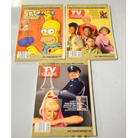 TV Guides, Last Small Size - 9 TV Guids with Tribute Covers.  More info below - Box 9