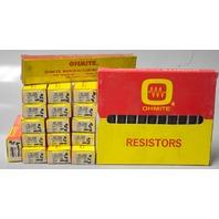 27 Pc Ohmite Resistors-#L50J200 50 Watt, 200 Ohm, #1816 20 Watt, 650 Ohm