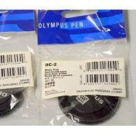 New Olympus BC-2 Body Cap OM-D and  Pen Micro Four Thirds Camera- 3 pcs
