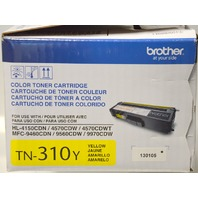 Brother TN-310y Color Toner Cartridge - Color yellow - Toner never opened