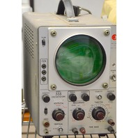Vintage Data Instrument #555 Oscilloscope -Powers On
