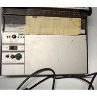 Gow-Mac Plotter Model 70-150 - Turns On - Sold for parts.