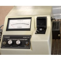 Turner Spectophotometer Model 330 - Pre-Owned - Turns on