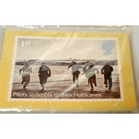 Royal Mail Battle of Britain Official Presentation Pack: Royal Aircraft & Hurricanes.