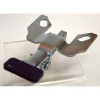 """Position Lock Brake: Steel, Foot Activated: bolt on style, works with 4"""" x 4 1/2"""" Plate"""