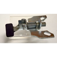 "Position Lock Brake: Steel, Foot Activated: bolt on style, works with 4"" x 4 1/2"" Plate"