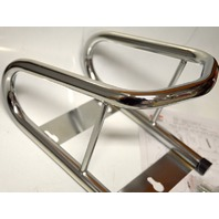 TOW-RAX Motorcycle Removable Wheel Chock - Chrome Plated #SPWC