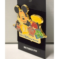 Disney Retired Pin - Mickey Mouse WDW Four Park Logo  #M1001