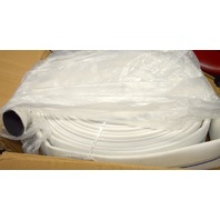 Dixon Valve Co #DM20-100UC Polyester Synthetic Double Jacket Uncoupled Mill Hose