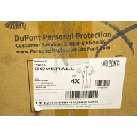 DuPont Tyvek ProShield Coverall's - 25 per box - 4X - White D13397930