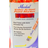 Markal Valve Action Liquid Paint Marker #96822 Red - 11 pcs.