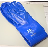 North Nitri-Knit Rough Chemical Resistant Nitrile Gloves Sz 10 XL 1 Pair #11545