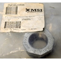 "MSI - 2"" x 1 1/4"" Galvanized Iron Hex Bushing. #1142"