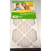 "Flanders Natural Aire Furnace Filter Standard Box of 12 -10""x20""x1"" #031949145101"