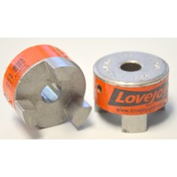 "2 -Lovejoy Shaft Coupler Body, Bor 1/2"" Dia 1 3/4"" #L-075"