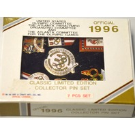 1996 Offical Atlanta Olympic Games - 7 pc set - Limited Edition. 19-96